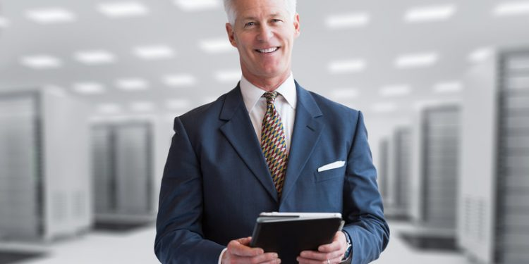 Senior IT Director, senior business man, IT professional,